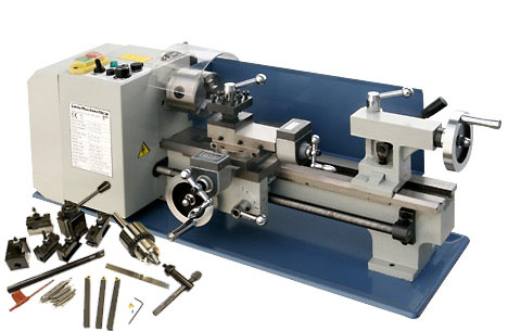 HiTorque 7x12 Mini Lathe, Deluxe with Premium Tooling Package