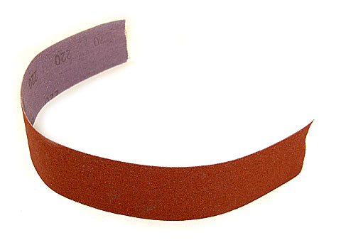 "Abrasive Cloth, 1"" Wide, 400 Grit"