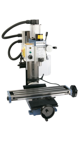HiTorque Mini Mill, Tilting Column
