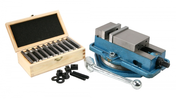 "Vise, 3"" Precision Milling Plus Parallels and Mounting Kit"