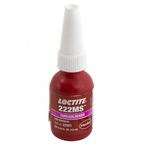 Loctite 222 Purple Low Strength Threadlocker for Small Fasteners
