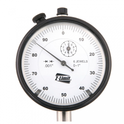 1 inch x 0.001 inch Professional Grade Dial Indicator