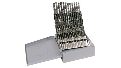Drill Set, #1-60 Screw Machine Length HSS