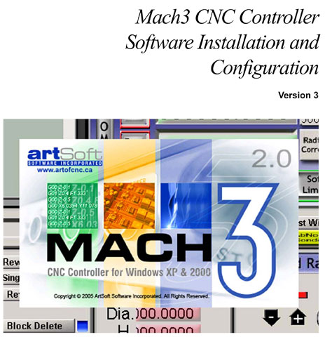 Mach3 CNC Controller - Software Installation and Configuration