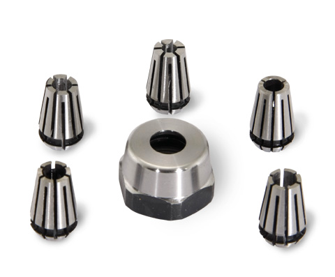 Nano Mill Collet Set, Metric