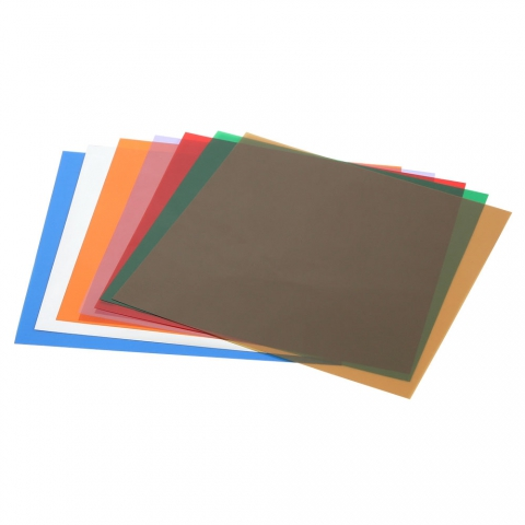"Shim Stock Assortment, 0.0005"" - 0.005"" Plastic"