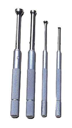 Small Hole Gage Set, 4-Piece, PEC