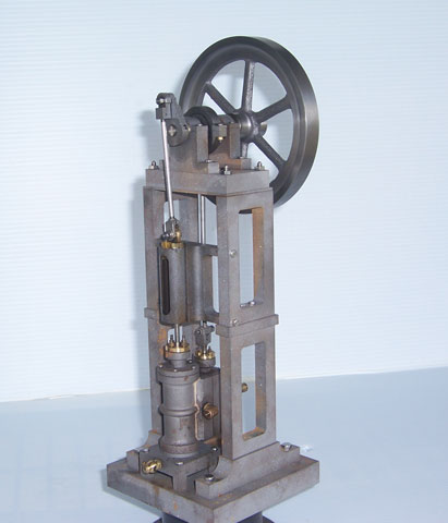 DVD: Building a Crosshead Overcrank Steam Engine