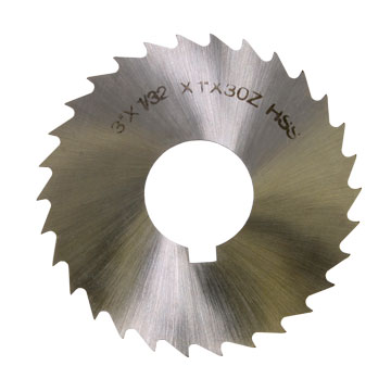 Slitting Saw Blades, HSS, Individual Sizes