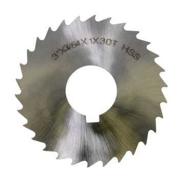 "Slitting Saw Blade, 3/64"", HSS"