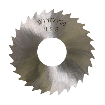 "Slitting Saw Blade, 1/16"", HSS"