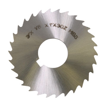 "Slitting Saw Blade, 1/8"", HSS"