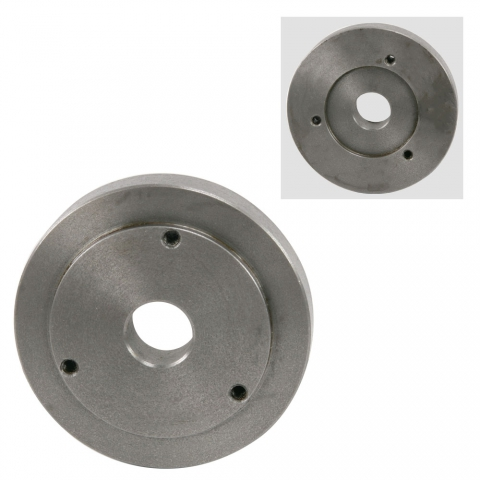 "Backplate Lathe Chuck Adapter, 5"" to 4"""