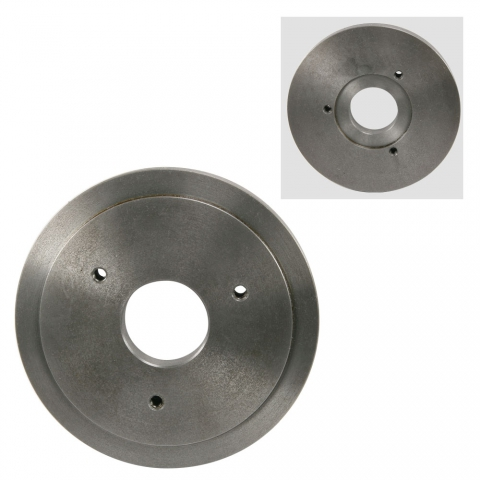 "Backplate Lathe Chuck Adapter, 6"" to 4"""