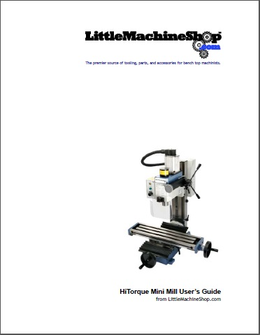 Users Guide, HiTorque Mini Mill, Tilting Column, 3900