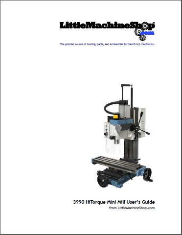 Users Guide, HiTorque Mini Mill, Solid Column with Air Spring, 3990