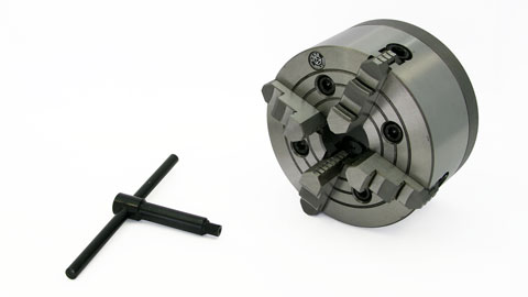 "Lathe Chuck, 4-Jaw 6"" for C8"