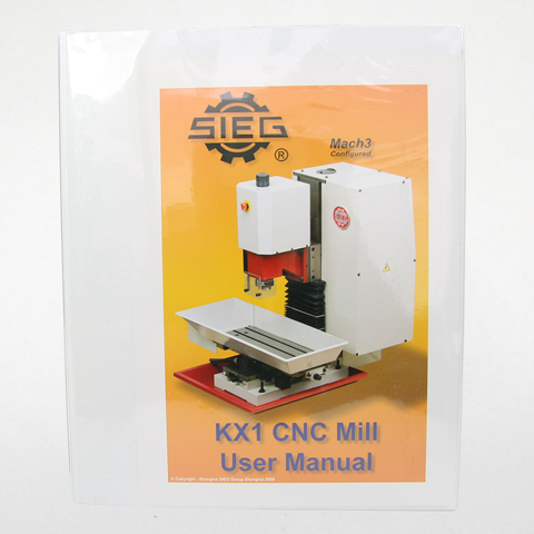 Users Guide, KX1 Milling Machine, 3501