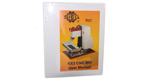 Users Guide, KX3 Milling Machine, 3503