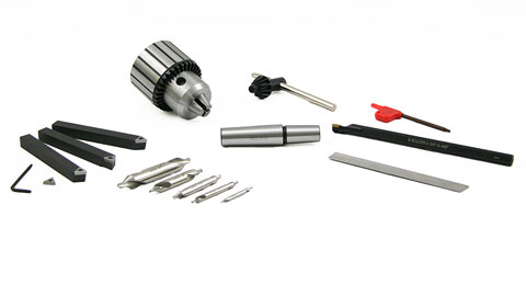 Tooling Package, Deluxe Mini Lathe Premium