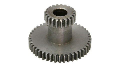 Duplicate Gear, 21 Teeth / 44 Teeth, Gear Shaft