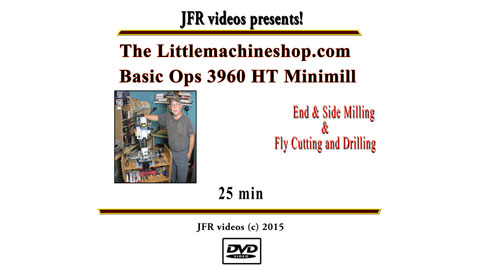 DVD: Basic Operations On The HiTorque Mini Mill