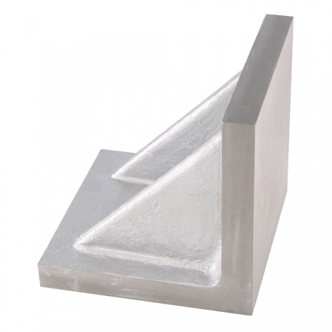 "Angle Plate, 4"" Webbed End"