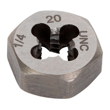 "Die, Hex, 1/2""-20 Thread"