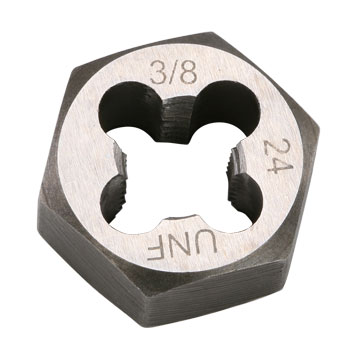 "Die, Hex, 3/8""-24 Thread"