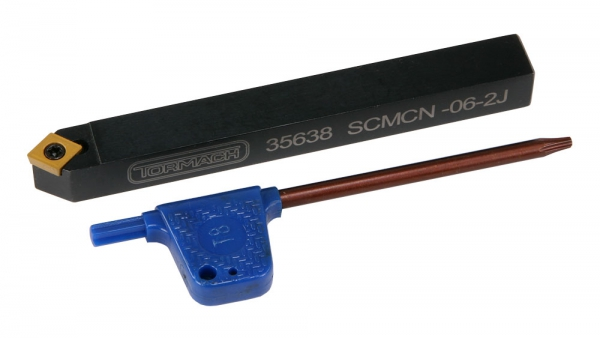 "Profiling Tool,  3/8"" Indexable, SCMCN-06-2J, Tormach"