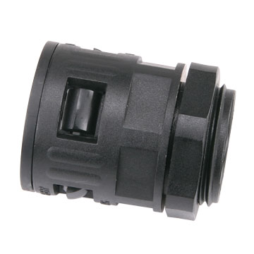 Connector, 28.5 mm Dia Plastic