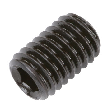 Set Screw, M8x12 Socket Flat Point