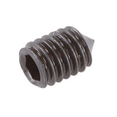 Set Screw, M4x6 Socket Cone Point
