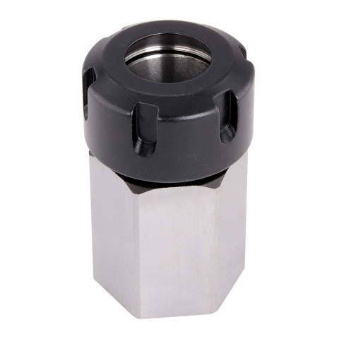 Collet Block, ER-25 Hexagonal