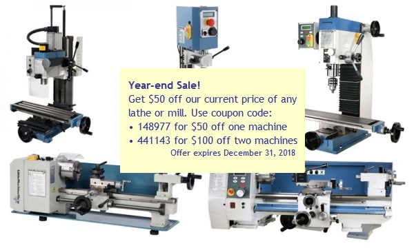 Lathes and Milling Machines - LittleMachineShop.com
