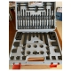 Clamping Kit, 8 mm T-Slot in Organizer Case